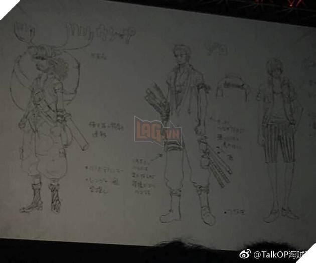 Một số hình anh được Leak sớm về One Piece 929 và tạo hình của Luffy trong One Piece Stampede 3