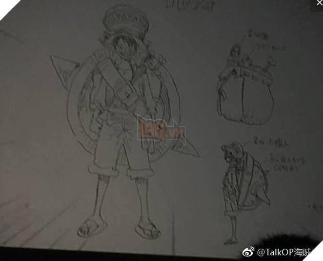 Một số hình anh được Leak sớm về One Piece 929 và tạo hình của Luffy trong One Piece Stampede 2