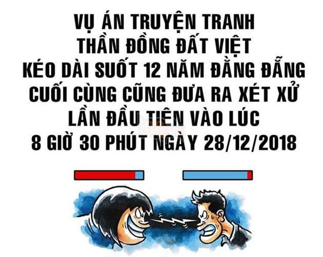 Tác giả gốc của Thần Đồng Đất Việt khởi kiện giành quyền sở hữu sau 12 năm dài ức chế