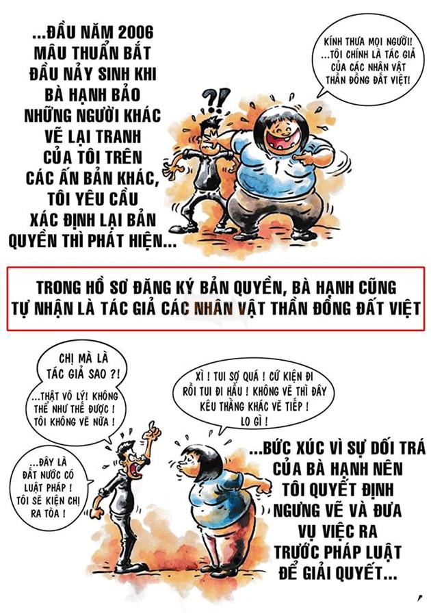 Tác giả gốc của Thần Đồng Đất Việt khởi kiện giành quyền sở hữu sau 12 năm dài ức chế 6