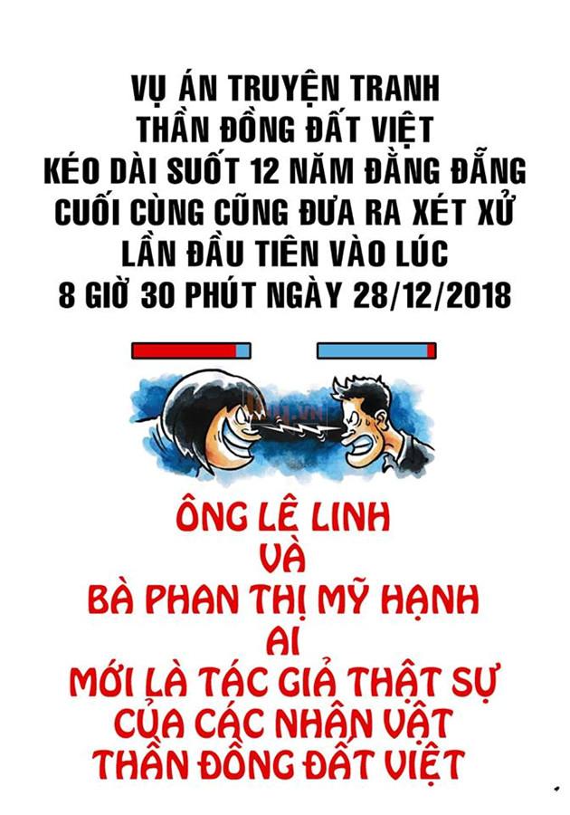 Tác giả gốc của Thần Đồng Đất Việt khởi kiện giành quyền sở hữu sau 12 năm dài ức chế 3