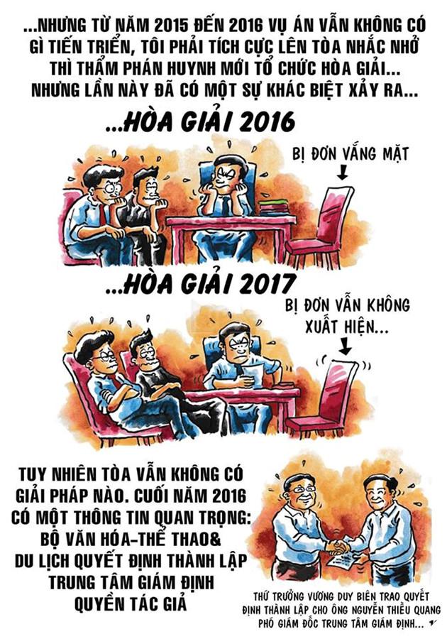 Tác giả gốc của Thần Đồng Đất Việt khởi kiện giành quyền sở hữu sau 12 năm dài ức chế 15