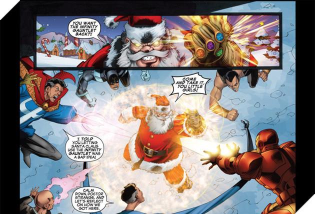 Đừng bất ngờ, ông già Noel đã từng sở hữu Găng tay Vô cực và bán hành cho các siêu anh hùng đấy - Ảnh 2.
