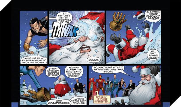 Đừng bất ngờ, ông già Noel đã từng sở hữu Găng tay Vô cực và bán hành cho các siêu anh hùng đấy - Ảnh 3.