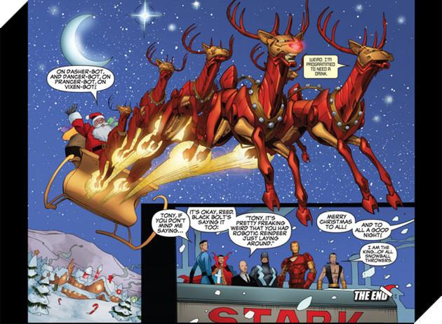 Đừng bất ngờ, ông già Noel đã từng sở hữu Găng tay Vô cực và bán hành cho các siêu anh hùng đấy - Ảnh 4.
