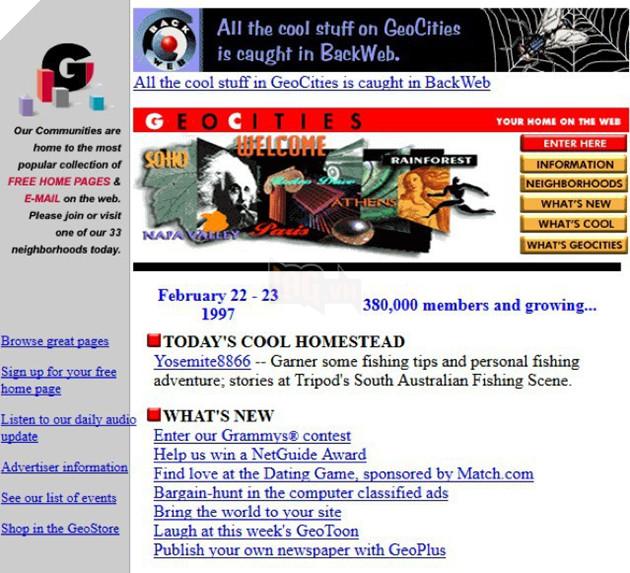 Đây là 11 website nổi tiếng thời xa xưa, nếu thấy quen thuộc thì chắc chắn bạn đã già - Ảnh 8.