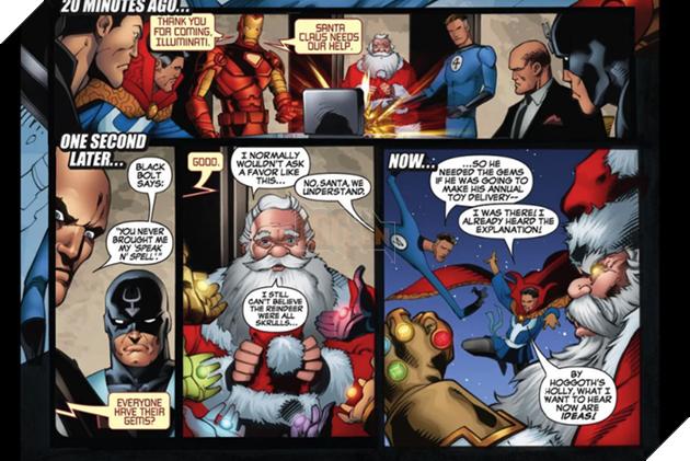 Đừng bất ngờ, ông già Noel đã từng sở hữu Găng tay Vô cực và bán hành cho các siêu anh hùng đấy - Ảnh 1.