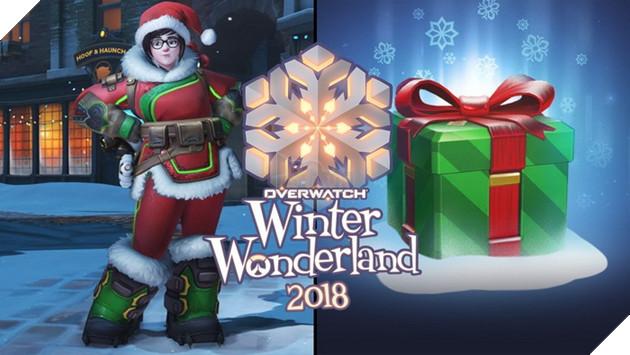 Overwatch tiếp tục tặng 5 Loot Box đặc biệt mừng Giáng Sinh đúng dịp như mọi năm