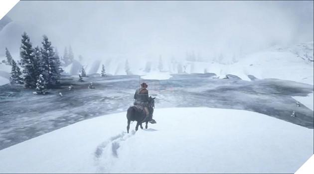 Red Dead Redemption 2: Cuối năm tuyết rơi nhiều, phủ đầy vùng đất miền Tây