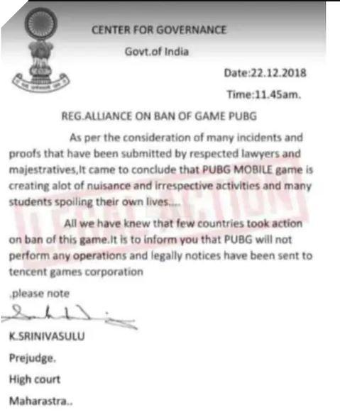 PUBG Mobile bất ngờ bị cấm tại Ấn Độ, tin thật hay chỉ là giả mạo? 2