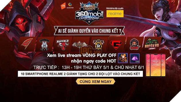 Cùng chờ đón Chung kết Quốc gia Mobile Legends Bang Bang VNG tại Đại hội 360Mobi