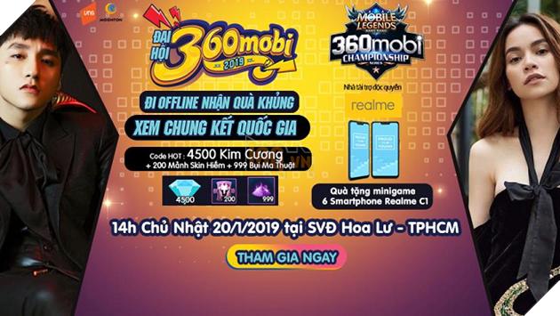 Cùng chờ đón Chung kết Quốc gia Mobile Legends Bang Bang VNG tại Đại hội 360Mobi 3