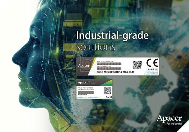Apacer thay đổi bộ nhận dạng công nghiệp, cam kết nghiên cứu và phát triển để hỗ trợ AI và IoT 2