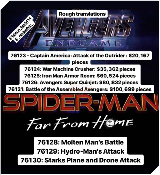 Avengers lại tiếp tục bị lộ cốt truyện vì... đồ chơi 2
