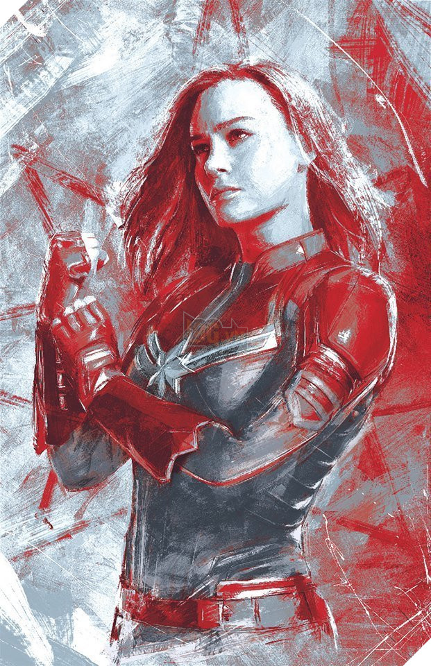 Avengers Endgame Promo Art - Captain Marvel
