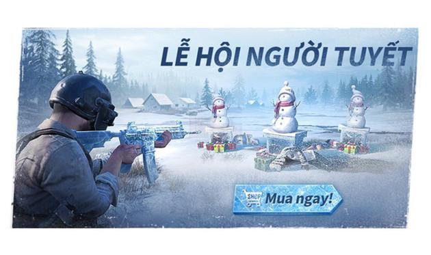 PUBG Mobile VNG ra mắt chỗi sự kiện lễ hội mùa đông hấp dẫn