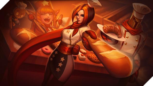 LMHT: Riot cũng phải ngỡ ngàng trước trang phục Fiora Thợ Làm Bánh do fan tự thiết kế - Ảnh 1.