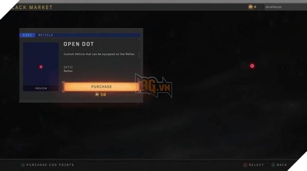 Call of Duty Black Ops 4: Red Dot thì miễn phí, nhưng có thể mua nếu thích 2