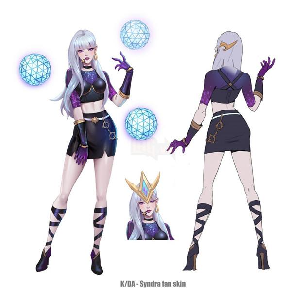 Liên Minh Huyền Thoại: Lác mắt với phiên bản thứ 2 của nhóm trang phục K/DA gồm Riven, Lux,… 6