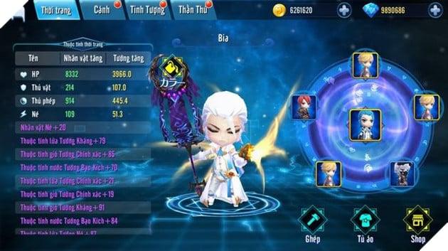 Chân Long Tam Quốc: game Chibi 3Q chiến thuật đỉnh cao chính thức lộ hàng 6
