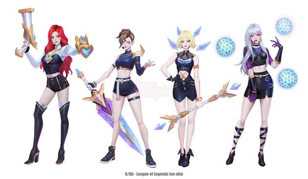 Liên Minh Huyền Thoại: Lác mắt với phiên bản thứ 2 của nhóm trang phục K/DA gồm Riven, Lux,… 2