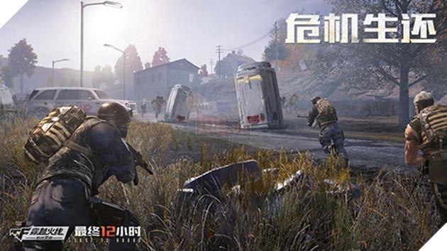 Tencent nhá hàng phiên bản sinh tồn mới của CFL mang tên Crossfire Legends: Last 12 Hours 3