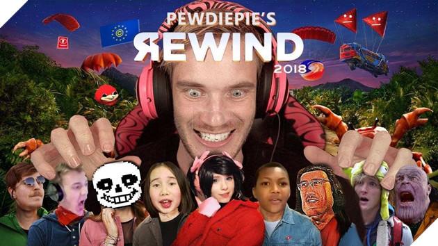 Youtube Rewind phiên bản Pewdiepie phá kỉ lục và đứng Top video non-music nhiều Like nhất 6