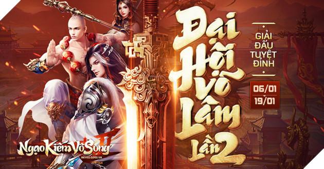 Ngạo Kiếm Vô Song 2 ấn định ngày khởi tranh Đại Hội Võ Lâm Lần 2 – Đi tìm Minh Chủ năm 2019 - Ảnh 1.