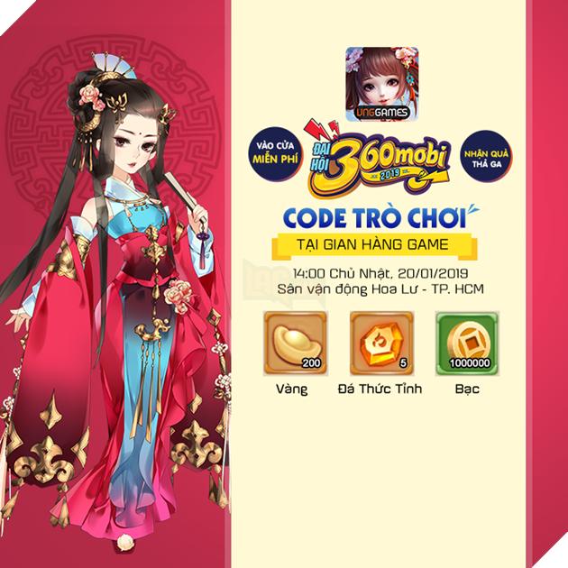 360mobi Mộng Hoàng Cung - Tham gia Mini Game nhận ngay Giftcode mới nhất năm 2019 4