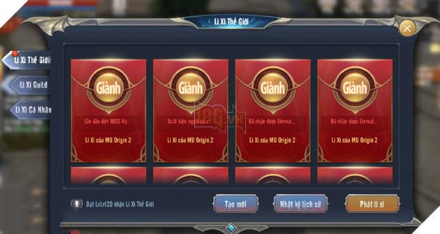 MU Awaken VNG tặng lì xì và Giftcode cho game thủ cực chất khi Tết ngày càng đến gần 5
