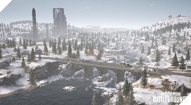 PUBG: 5 địa điểm lý tưởng trên bản đồ tuyết Vikendi dành cho các camper