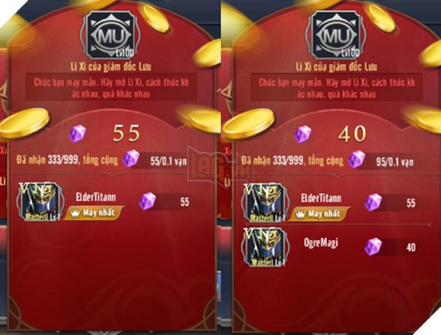 MU Awaken VNG tặng lì xì và Giftcode cho game thủ cực chất khi Tết ngày càng đến gần 4