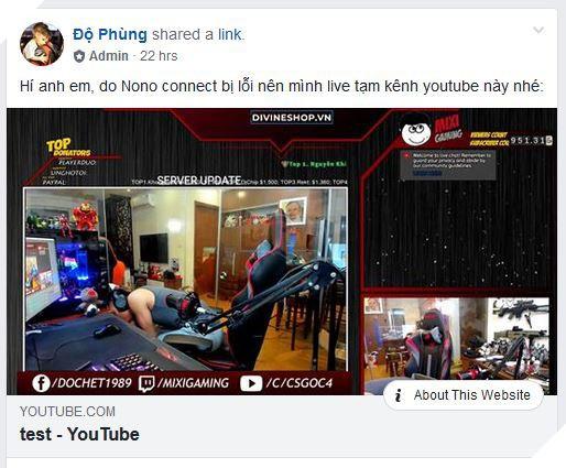 Sau vài ngày du mục Độ Mixi đành phải dùng kênh Youtube phụ để livestream - Ảnh 1.