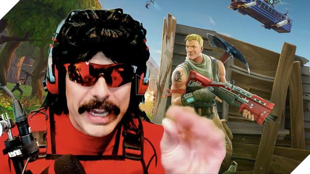 Chỉ toàn chơi Fortnite, Dr Disrespect bị người hâm mộ la ó và phản ứng cực gắt của streamer này 2