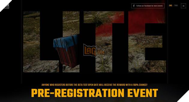 Cách đăng ký và tải PUBG LITE PUBG Thái Lan cũ để nhận nhiều phần thưởng trong game giá trị