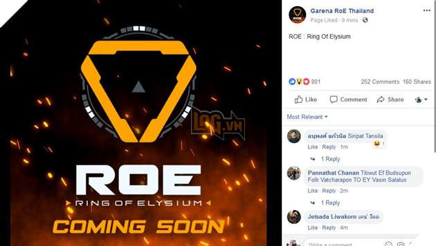 Ring of Elysium chuẩn bị trở lại với Garena RoE Thái Lan, sẵn sàng mở máy chủ Việt Nam 2