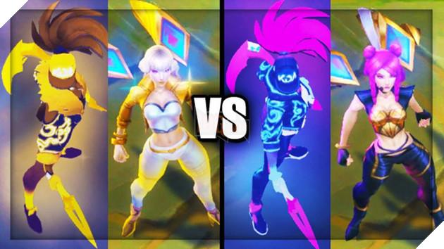 LMHT: Riot Games chính thức xác nhận Ahri và Evelynn sẽ được thiết kế trang phục K/DA Hàng Hiệu cho...bằng chị bằng em - Ảnh 2.