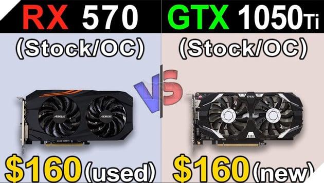 RX 570 vs GTX 1050 Ti: Đâu mới là lựa chọn tốt hơn cho PC chơi game giá rẻ?