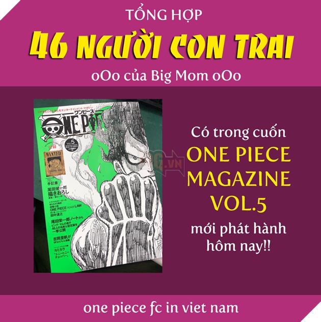 One Piece - Vua Hải Tặc - Tổng hợp 46 người con trai của Tứ Hoàng Big Mom