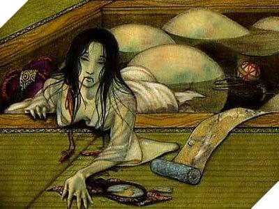 Câu chuyện về yêu quái Xà Nữ vô cùng đáng sợ trong truyền thuyết Nhật Bản 2
