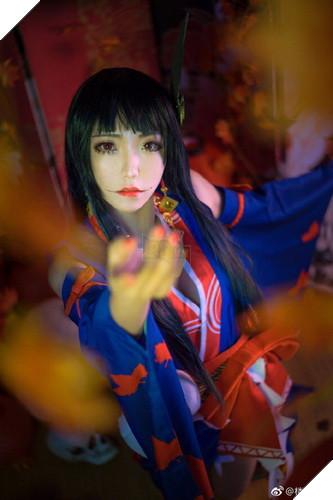Âm Dương Sư: Cùng ngắm nhìn bộ cosplay ma mị mê hồn của Momiji do fan thực hiện 4