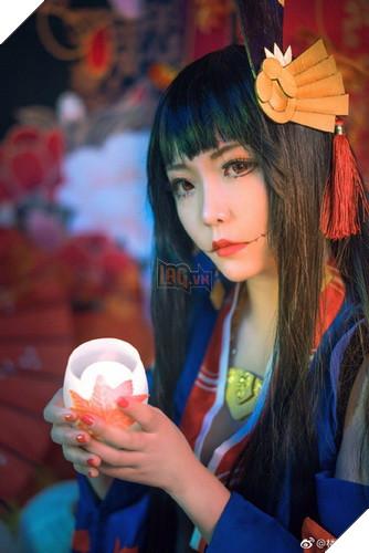 Âm Dương Sư: Cùng ngắm nhìn bộ cosplay ma mị mê hồn của Momiji do fan thực hiện 5