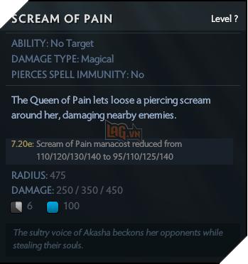 Scream of pain