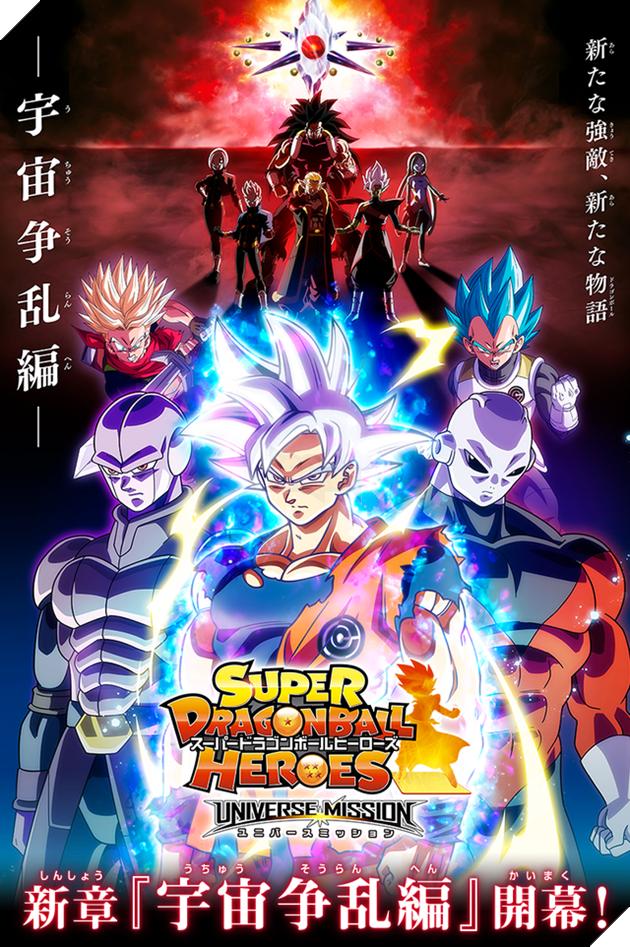 Tổng hợp phản diện Dragon Ball Super Heroes 1