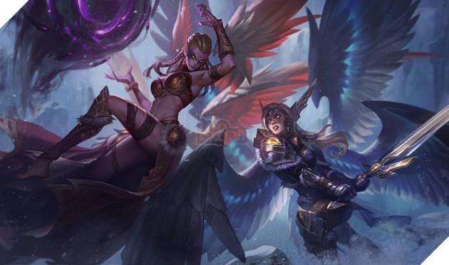 LMHT - Không được làm lại kỹ năng Morgana nhận được hiệu ứng mới cực hot từ chiêu cuối 15