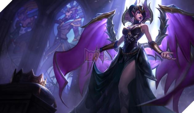 LMHT - Không được làm lại kỹ năng Morgana nhận được hiệu ứng mới cực hot từ chiêu cuối 17