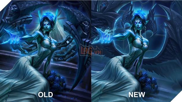 LMHT - Không được làm lại kỹ năng Morgana nhận được hiệu ứng mới cực hot từ chiêu cuối 18