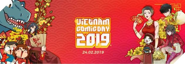 Sự kiện Ngày hội truyện tranh Vietnam Comics Day 2019 2