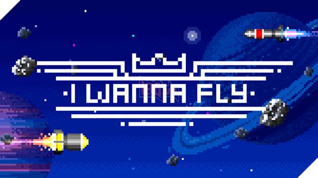 I Wanna Fly trên Nintendo Switch là một tựa game endless runner với nền đồ họa 8-bit đơn giản. Nguồn: Internet.