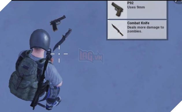 PUBG Mobile những vũ khí đặc biệt trong chế độ zombie 1